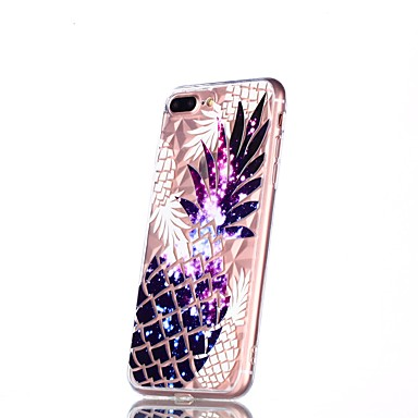 8 iPhone 8 06878515 Fantasia disegno iPhone Plus per iPhone X iPhone Custodia Per Apple Morbido 8 retro Transparente X Plus TPU Per iPhone Frutta XgHUzqw