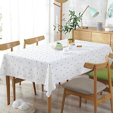 زهري قطن مربع قماش الطاولة ورد الجدول ديكورات 1 pcs