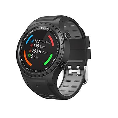 M1s ساعة ذكية بلوتوث اللياقة البدنية تعقب دعم الإخطار / رصد معدل ضربات القلب المدمج في نظام تحديد المواقع الرياضية smartwatch متوافق مع الهواتف فون / سامسونج / الروبوت