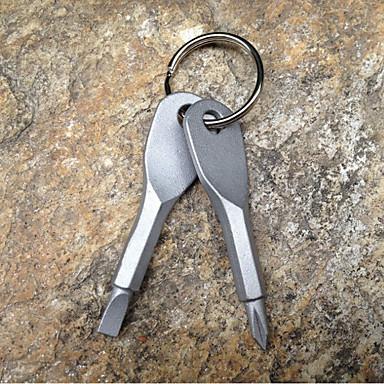 سلسلة المفاتيح بسيط كاجوال خواتم مجوهرات فضي من أجل مناسب للبس اليومي شارع