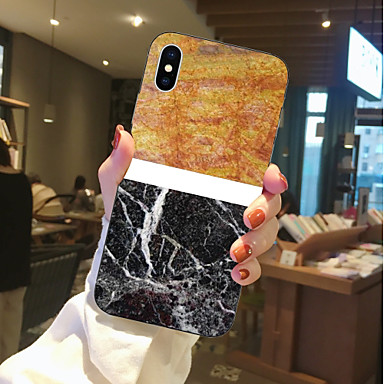 TPU 8 06878429 Plus retro iPhone X 8 iPhone iPhone Morbido Transparente per Per iPhone marmo X Per Fantasia disegno Apple iPhone 8 Custodia Effetto vxgX66