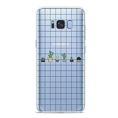 غطاء من أجل Samsung Galaxy S9 / S9 Plus / S8 Plus نموذج غطاء خلفي النباتات ناعم TPU