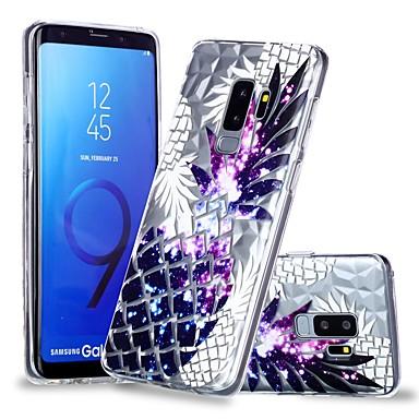 غطاء من أجل Samsung Galaxy S9 / S9 Plus / S8 Plus شفاف / نموذج غطاء خلفي فاكهة ناعم TPU