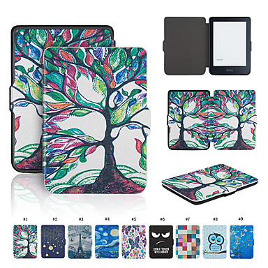 Case For BLU kobo clara HD Shockproof / Auto Sleep / Wake Up Full Body Cases Solid Colored Soft PU Leather for kobo clara HD