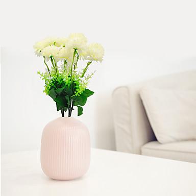زهور اصطناعية 1 فرع كلاسيكي أسلوب بسيط النمط الرعوي أقحوان أزهار الطاولة