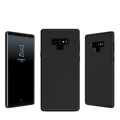Недорогие Чехлы и кейсы для Galaxy Note-Nillkin Кейс для Назначение SSamsung Galaxy Note 9 / Note 8 Рельефный Кейс на заднюю панель Полосы / волосы Твердый Углеродное волокно для Note 9 / Note 8