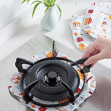 رقائق ألمنيوم وعاء رفوف واكسسوارات عازل للحرارة أدوات أدوات المطبخ Everyday Use 8PCS