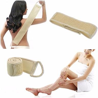 التقشير مرة أخرى حزام الظهر حمام دش الجسم هيئة فرشاة تنظيف الجسم الإسفنج فطيرة فرشاة نوعية جيدة