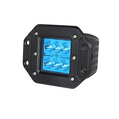 Lights Maker 1 قطعة سيارة لمبات الضوء 18 W SMD 3030 6 LED ضوء الضباب من أجل عالمي كل السنوات