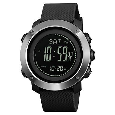 60e26eb79505 SKMEI Hombre Mujer Reloj Deportivo Reloj Militar Reloj digital Japonés  Digital Cuero Sintético Acolchado Negro