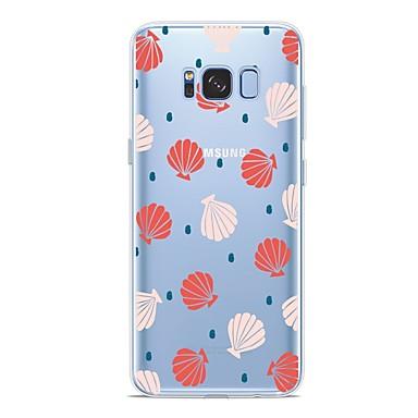 Недорогие Чехлы и кейсы для Galaxy S6-Кейс для Назначение SSamsung Galaxy S9 / S9 Plus / S8 Plus С узором Кейс на заднюю панель Плитка Мягкий ТПУ
