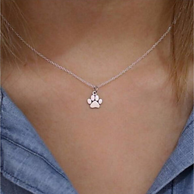Women's Classic Stylish Pendant Necklace - Animal Simple, Classic, Fashion Cute, Lovely Gold, Silver 51 cm Necklace Jewelry 1pc For Daily, Work