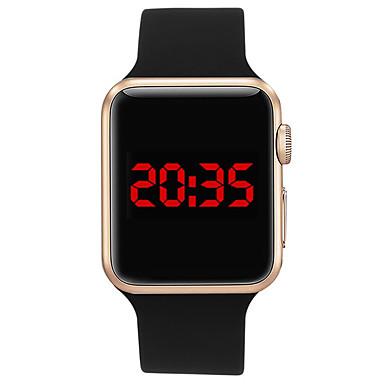 Χαμηλού Κόστους Ανδρικά ρολόγια-Ανδρικά Αθλητικό Ρολόι Ρολόι Καρπού Ψηφιακό ρολόι Ψηφιακό σιλικόνη Μαύρο / Λευκή / Μπλε 30 m Ανθεκτικό στο Νερό Χρονογράφος Νεό Σχέδιο Ψηφιακό Καθημερινό Βραχιόλι - Πράσινο Ασημί / Μαύρο Χρυσό / Μαύρο