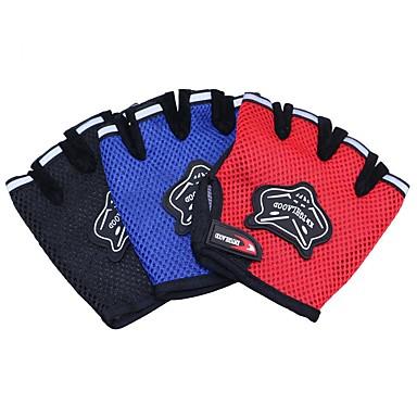 قفازات / قفازات النشاط والرياضة / قفازات التمرين إلى لياقة بدنية / القفز المظلي / قفازات النشاط والرياضة رياضات / ذئب / متنفس صاف / النسيج الشبكي / خامة شبكية تسمح بمرور الهواء 1SET أسود / أحمر / أزرق