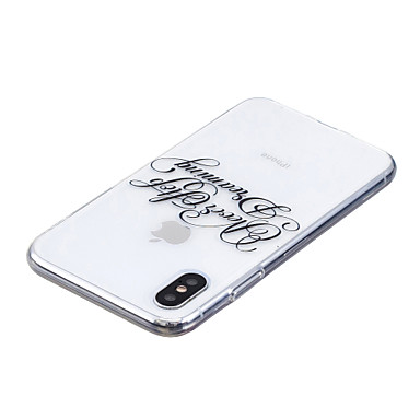 8 iPhone Traslucido disegno 06878689 TPU Per Apple Custodia iPhone 8 Transparente Frasi Per X Plus Morbido iPhone retro X iPhone iPhone 8 famose Fantasia per FTS0Rw