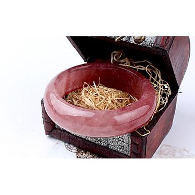 نسائي أساور كلاسيكي خلاق سيدات بسيط الطبيعة حلو حجر مجوهرات سوار زهري من أجل هدية مناسب للخارج