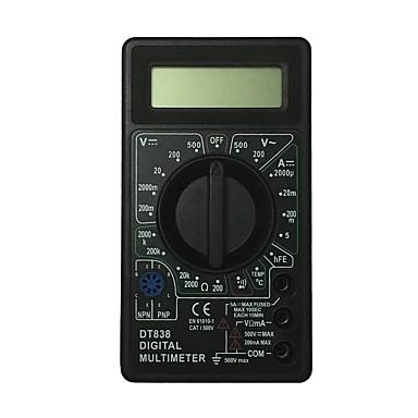 dt838-500v أسود lcd يده رقمي متعدد باستخدام للمنزل والسيارة