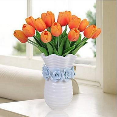 زهور اصطناعية 8.0 فرع كلاسيكي فردي زهري أسلوب بسيط أزهار التولب أزهار الطاولة