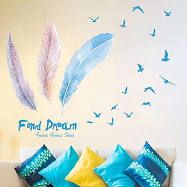 لواصق حائط مزخرفة - لواصق حائط الطائرة حياة هادئة / أشكال غرفة النوم / داخلي