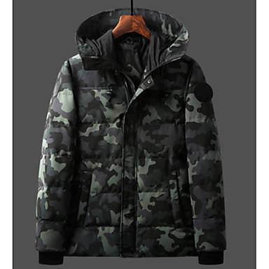 levne Pánské kabáty a parky-Pánské Jdeme ven Barevné bloky Standardní S  vycpávkou 00821e7e9a7