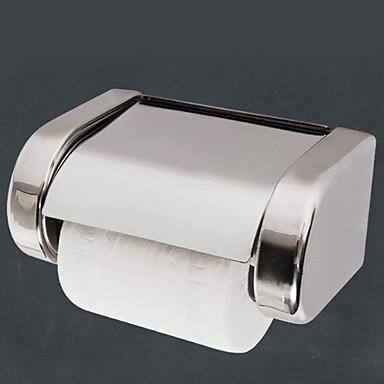 حاملة ورق التواليت تصميم جديد / كوول معاصر الفولاذ المقاوم للصدأ 1PC حمالة ورق تواليت مثبت على الحائط