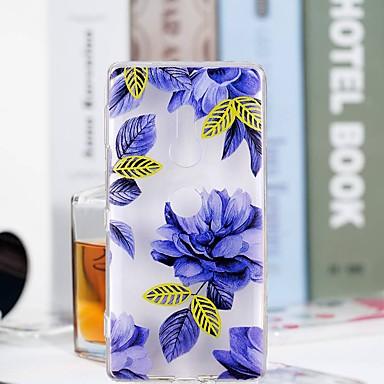 غطاء من أجل Sony Xperia XZ2 Compact / Xperia XZ2 شفاف / نموذج غطاء خلفي زهور ناعم TPU إلى Huawei P20 / Huawei P20 Pro / Huawei P20 lite