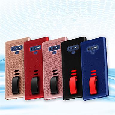غطاء من أجل Samsung Galaxy Note 9 مثلج غطاء خلفي لون سادة قاسي الكمبيوتر الشخصي