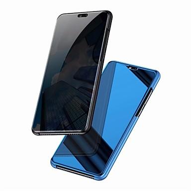 غطاء من أجل Huawei Mate 10 / Mate 10 pro / Mate 10 lite مرآة / قلب غطاء كامل للجسم لون سادة قاسي الكمبيوتر الشخصي