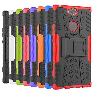 voordelige Hoesjes / covers voor Sony-hoesje Voor Sony Sony XA2 Plus / Xperia XZ2 / Xperia XZ2 Compact Schokbestendig / met standaard Achterkant Tegel / Schild Hard PC