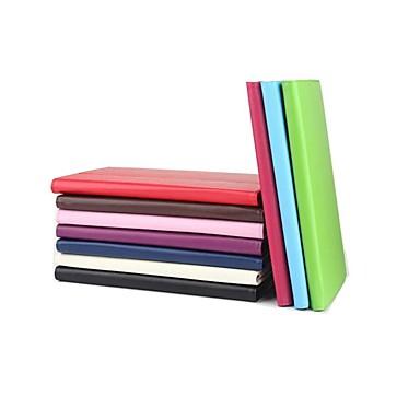غطاء من أجل Lenovo Lenovo Tab 3 10 business (TB3-X70F / N) / Lenovo Tab 2 A7-30 / Lenovo Tab 2 A10-30F / L (TB2-X30) مع حامل / قلب غطاء كامل للجسم لون سادة قاسي جلد PU