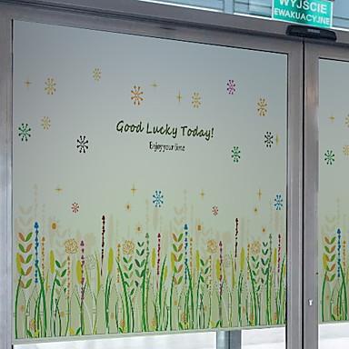 فيلم نافذة وملصقات زخرفة نمط الشعبية هندسي PVC كوول