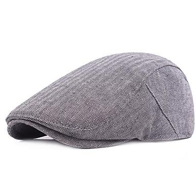 قبعة قلنسوة لون سادة رجالي أساسي