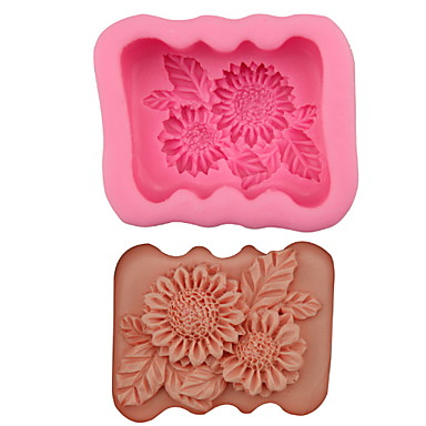 1PC هلام السيليكون جميل تصميم جديد كعكة قوالب الكيك أدوات خبز