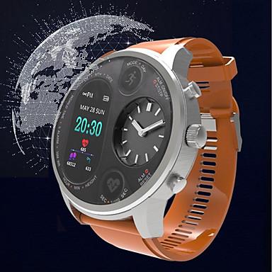 זול שעונים חכמים-KUPENG T3 גברים חכמים שעונים Android iOS Blootooth GPS ספורטיבי עמיד במים מוניטור קצב לב מודד לחץ דם מד צעדים מזכיר שיחות מד פעילות מעקב שינה תזכורת בישיבה / מסך מגע / כלוריות שנשרפו / המתנה ארוכה