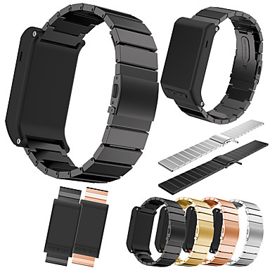 Watch Band for Vivoactive HR Garmin Classic Buckle Metal / Stainless Steel Wrist Strap