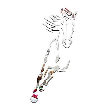ieftine Wall Art-Autocolante de Perete Decorative - Acțibilduri de Oglindă Animale / Forme Interior
