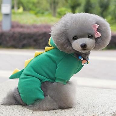 404071d9e38e33 Cachorros Gatos Fantasias Casacos Roupas para Cães Sólido Verde Azul ...