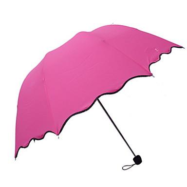 بلاستيك الجميع مشمس وممطر مظلة ملطية