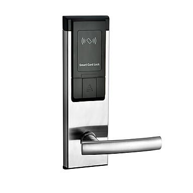 ieftine Sisteme de Control Acces-Factory OEM Teak Blocare inteligentă Smart Home Security Sistem RFID Apartament / Hotel (Modul de deblocare Parola / Cheie mecanică / Card)