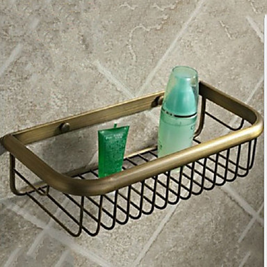 رف الحمام تصميم جديد أنتيك نحاس 1PC مثبت على الحائط
