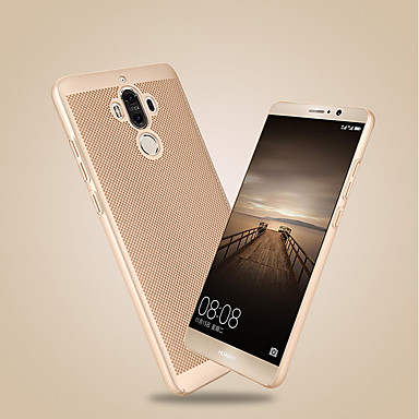 voordelige Huawei Y-serie hoesjes / covers-hoesje Voor Huawei Honor 9 / Honor 6A / Honor V9 Ultradun Achterkant Effen Hard PC / Mate 9 Pro