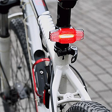 - Bike Light Safety Light Cycling Waterproof Portable Dust Proof Rechargeable Li-Ion Battery 100 lm Rechargeable Power Cycling / Bike