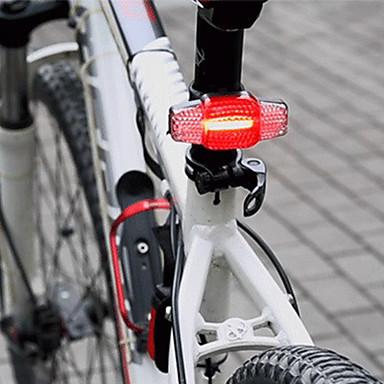 cheap Bike Lights-- Bike Light Safety Light Cycling Waterproof Portable Dust Proof Rechargeable Li-Ion Battery 100 lm Rechargeable Power Cycling / Bike