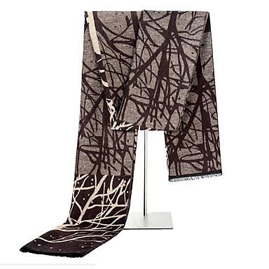 economico Abbigliamento uomo-Per uomo A pieghe Rettangolare Monocolore / A quadri