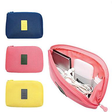 ราคาถูก กระเป๋าเดินทาง-กระเ๋าเดินทาง / ผู้จัดการท่องเที่ยว Large Capacity / Fast Dry / วัสดุเบามาก USB Cable / โทรศัพท์เคลื่อนที่ Terylene การเดินทาง
