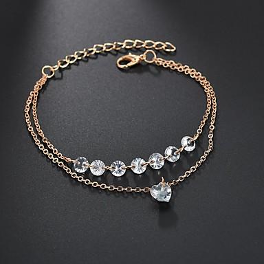 687541e323 cheap Tennis Bracelets-Women  039 s AAA Cubic Zirconia Layered Floating  Wrap Bracelet
