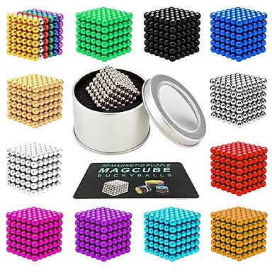 216 pcs 3mm Παιχνίδια μαγνήτες Μαγνητικές μπάλες Παιχνίδια μαγνήτες Σούπερ δυνατοί μαγνήτες σπάνιας γαίας Μαγνητική Στρες και το άγχος Αρωγής Γραφείο Γραφείο Παιχνίδια Ανακουφίζει από ADD, ADHD