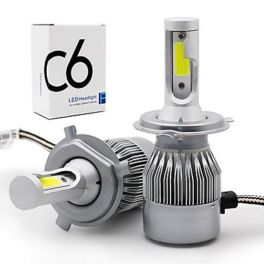 voordelige Autokoplampen-OTOLAMPARA 2pcs 9004 / 9007 / H4 Automatisch Lampen 36 W COB 3800 lm 1 LED Koplamp Voor Volkswagen / Toyota / Hyundai Elantra / Golf / Yaris 2018 / 2017