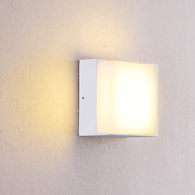 OYLYW Waterproof / Mini Style LED / Modern Contemporary Wall Lamps & Sconces / Bathroom Lighting Indoor / Outdoor Metal Wall Light IP54 85-265V 5 W