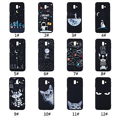 voordelige Galaxy J-serie hoesjes / covers-hoesje Voor Samsung Galaxy On7(2016) / On5(2016) / J7 Prime Mat / Patroon Achterkant Woord / tekst / Landschap / dier Zacht TPU